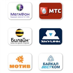 Операторы сотовой связи Ильинско-Подомского